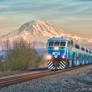 Sound Transit and Mount Rainier
