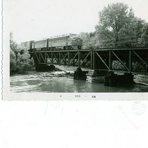 PENNSYLANIA RR         MACKINAW ILLINOIS 1957