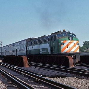 Burlington Northern 9925