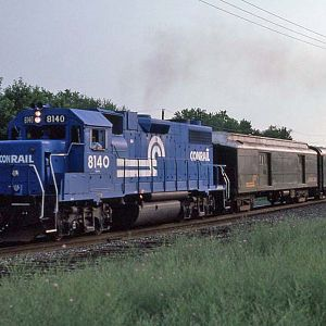 Conrail Geometry Train
