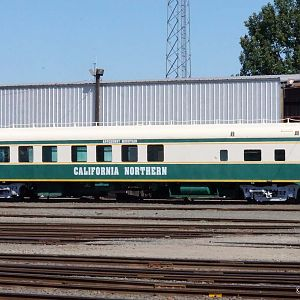 California Northern Passenger Car