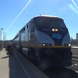 Amtrak Capitol Corridor At Roseville