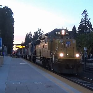 Union Pacific Mission Bay Local At Burlingame
