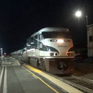 Amtrak Cascades Train At Edmonds