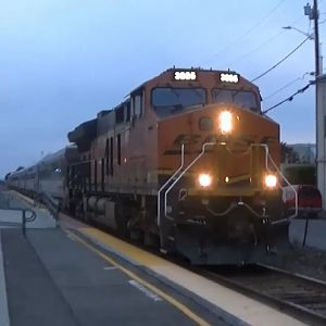 BNSF Officer's Car Special At Edmonds