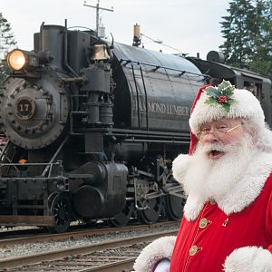 Polar Express at Mt Rainier Railroad