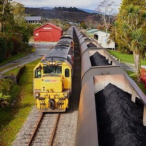 KiwiRail Midland Line Coal Trains