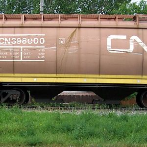 CN Articulated hopper