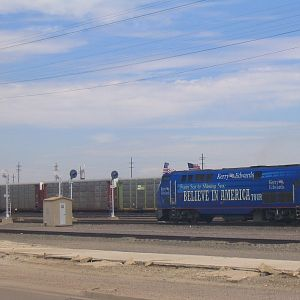 Kerry Amtrak Special - La Junta