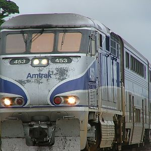 Amtrak 453 at Del Mar