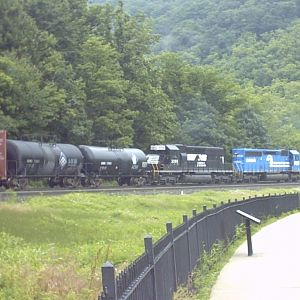 Downhill on Horseshoe Curve