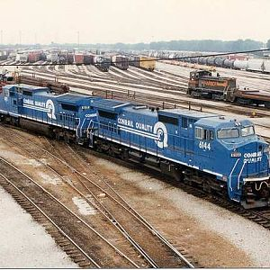 Conrail at IHB's Blue Island Yard