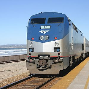 Surfliner at Surf