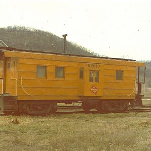 Milwaukee Road Bay Window Caboose