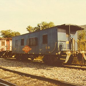 Minneapolis, Northfield and Southern Caboose