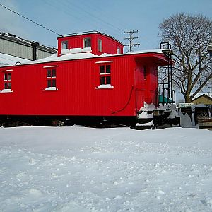 Manistee and Northeastern caboose