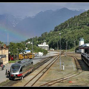 Rainbow at ndalsnes