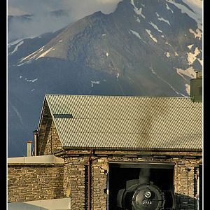Mountain Steam Shed