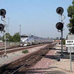 Surfliner at Fullerton