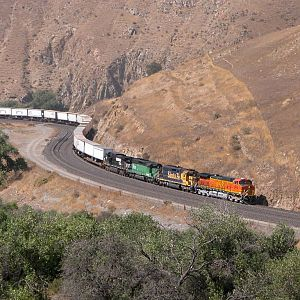 Hot Train in the Hills
