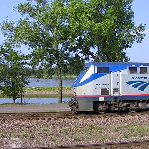 Missouri River Amtrak